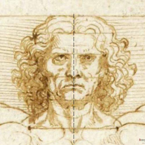 Roberto Concas L'inganno dell'Uomo Vitruviano - Sezione Aurea